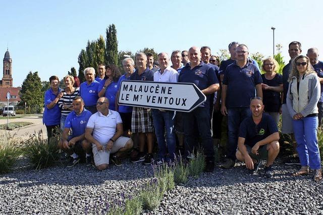 Feuerwehr freut sich über Gäste aus der Provence