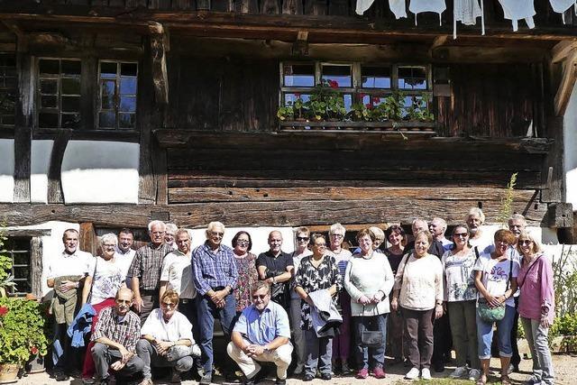 52er-Klassentreffen beim Schneiderhof
