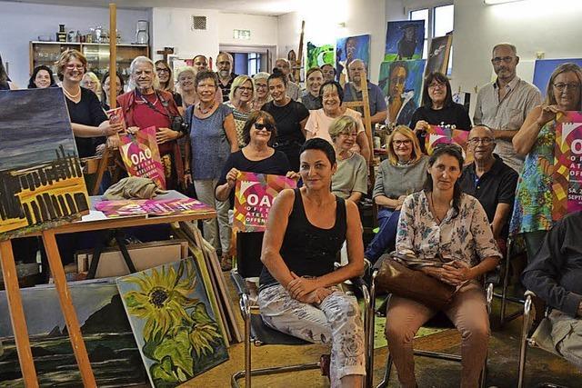 Die Offenburger Kunst-Szene öffnet ihre Ateliers