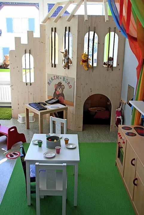 Hier lässt sich gut spielen: Blick in die neuen Schatzinsel-Räume   | Foto: Schöneberg