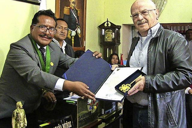 Peru dankt Ayuda Andina mit