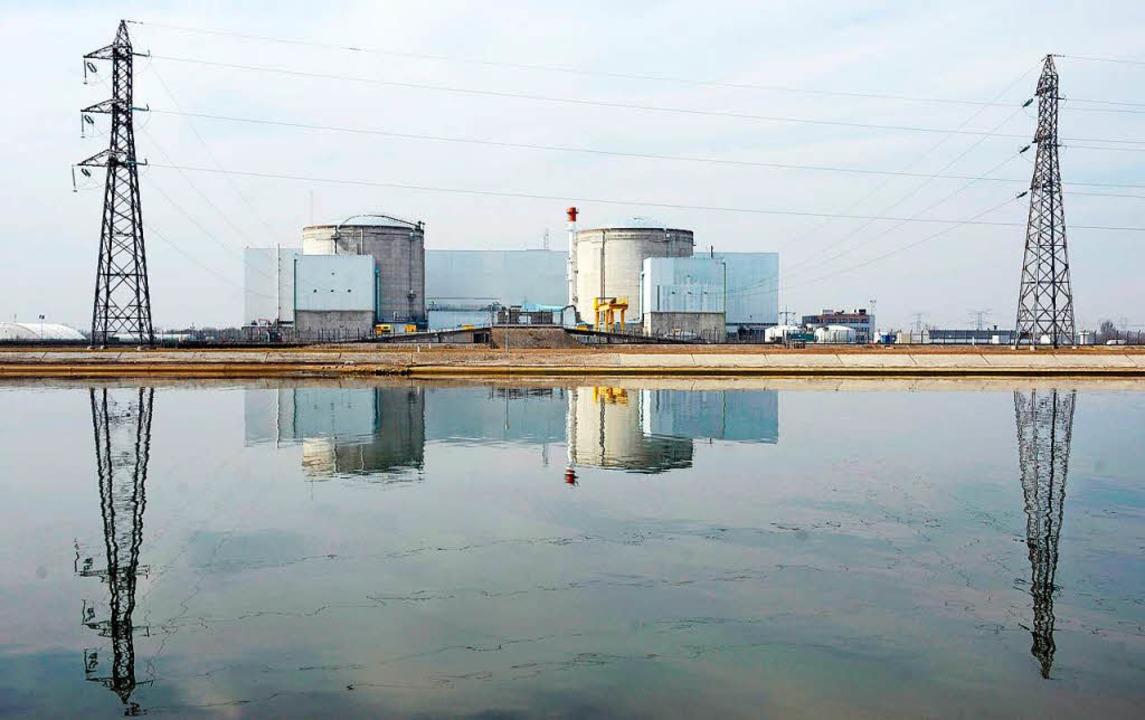 Das Atomkraftwerk Fessenheim  | Foto: Christophe Karaba