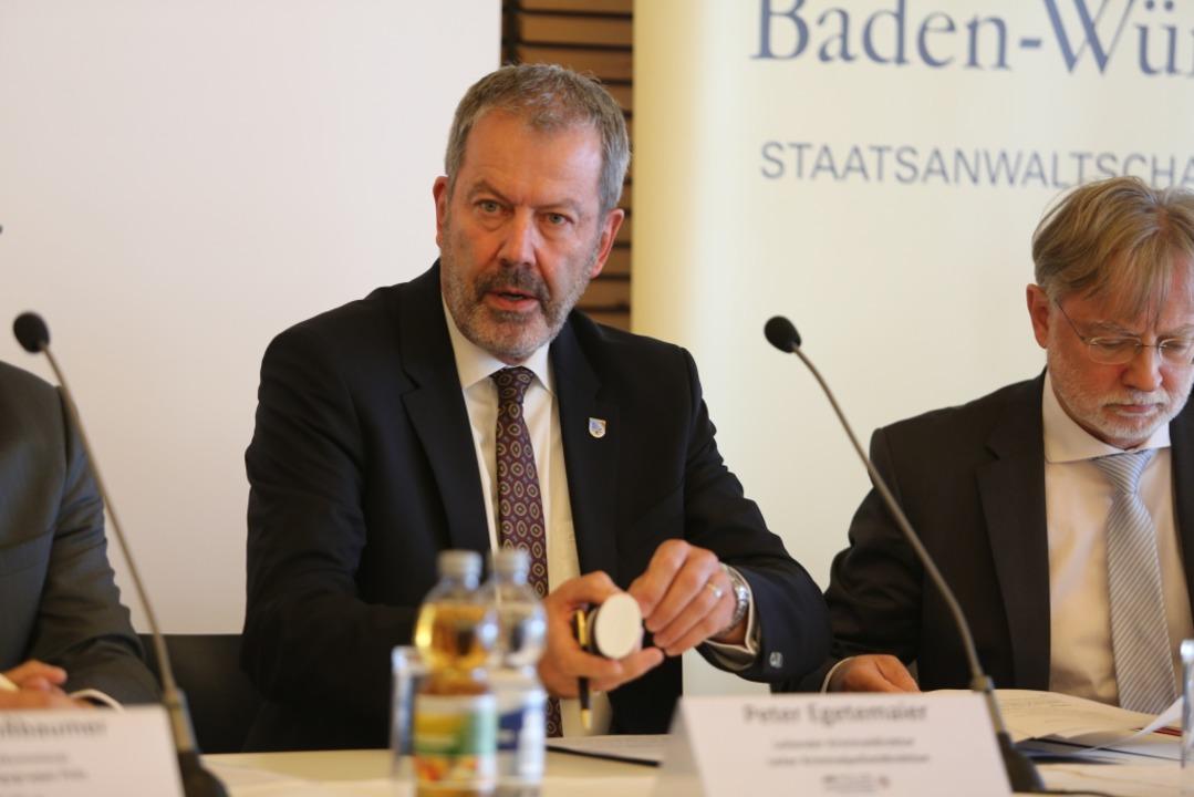 Peter Egetemaier, Leiter Kriminalpolizei Freiburg  | Foto: Daniel Laufer