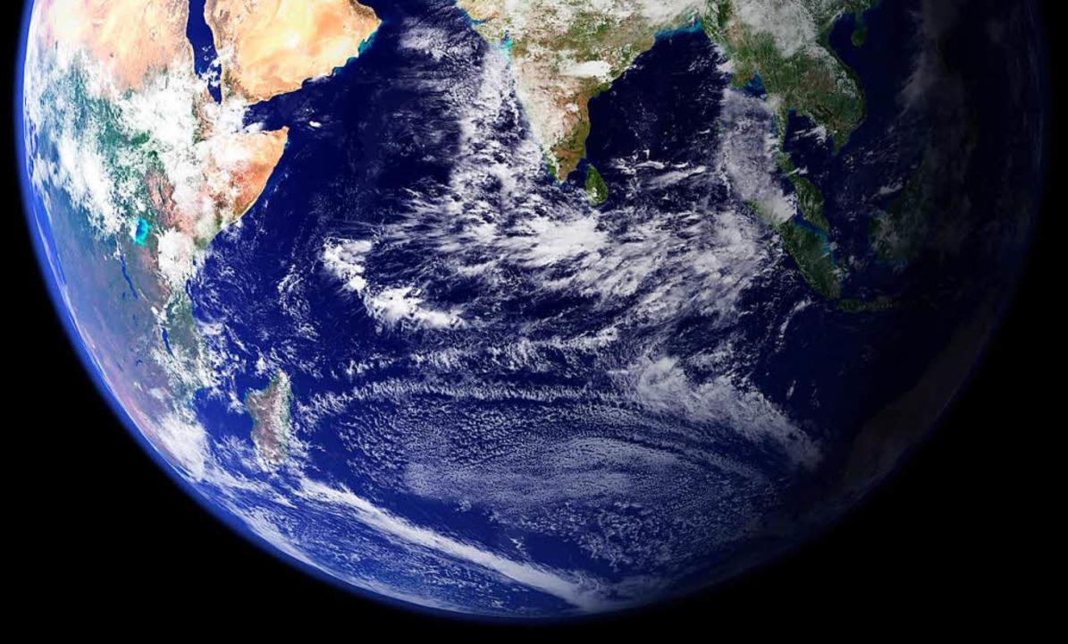 Statt aufs Meer auf die Erde  schauen....raumtourismus will es möglich machen.   | Foto: <BZ-Keyword>dpa</BZ-Keyword>