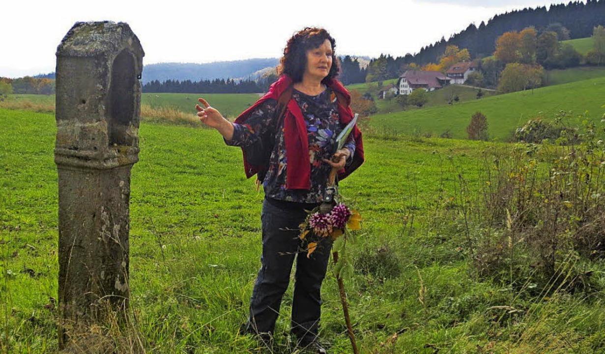 Rosemarie Riesterer bringt ihren Mitwa...e Heimat und deren Geschichten näher.   | Foto: privat