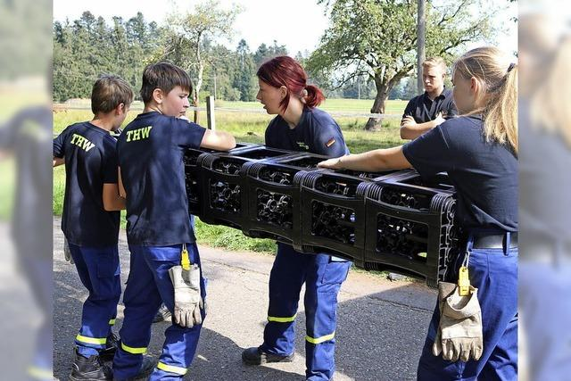 Jugendfeuerwehren messen sich im Wettkampf