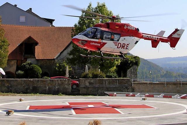 Wieder Landeanflug aufs Spital