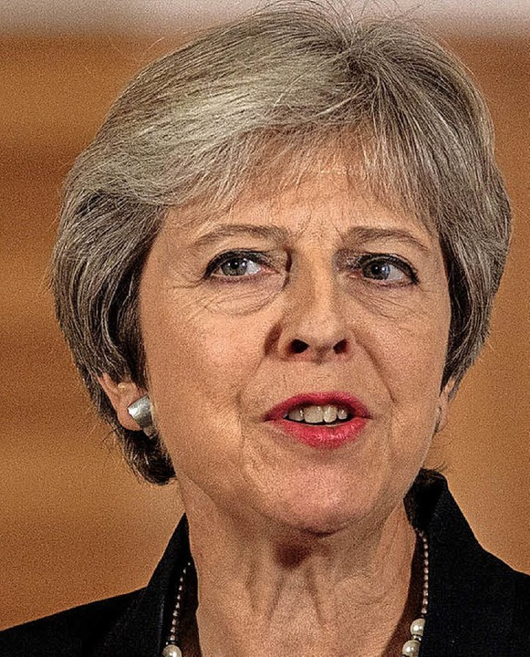 Theresa May     Foto: dpa