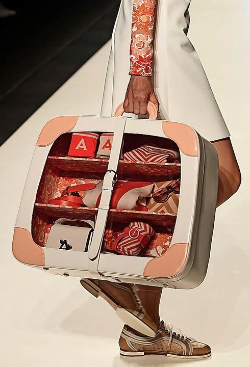 Immer aufgeräumt: kleiner Koffer von Anteprima  | Foto: AFP