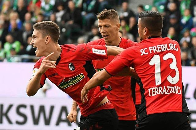 Erster Saisonsieg: SC Freiburg gewinnt beim VfL Wolfsburg mit 3:1