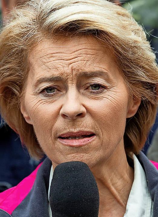 Ursula von der Leyen  | Foto:  dpa