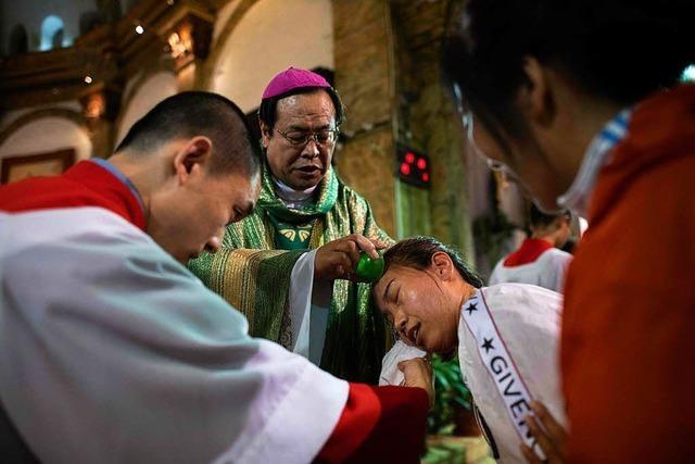 China und Vatikan schließen historisches Abkommen