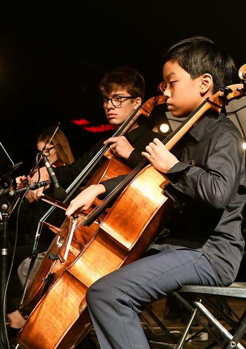 Junge Talente der Musikschule  | Foto: Wolfgang Künstle
