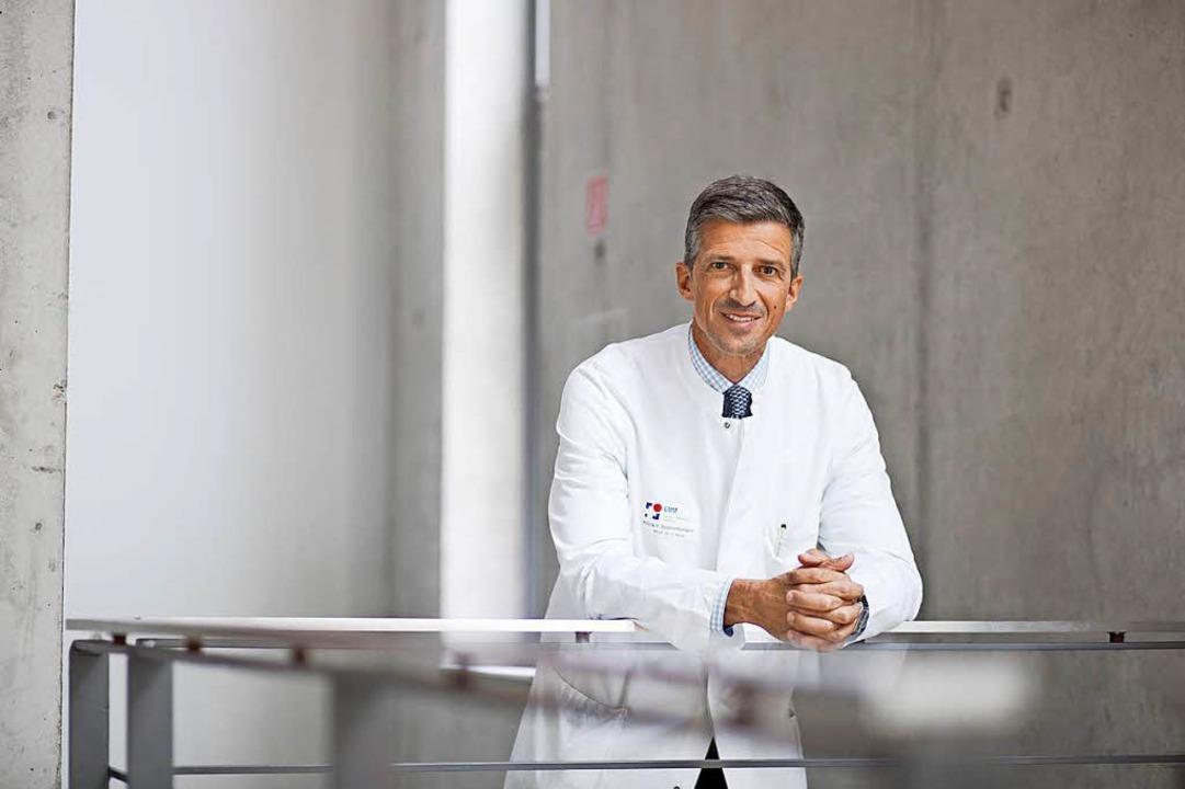 Frederik Wenz kommt vom Uniklinikum Mannheim nach Freiburg.  | Foto: UMM