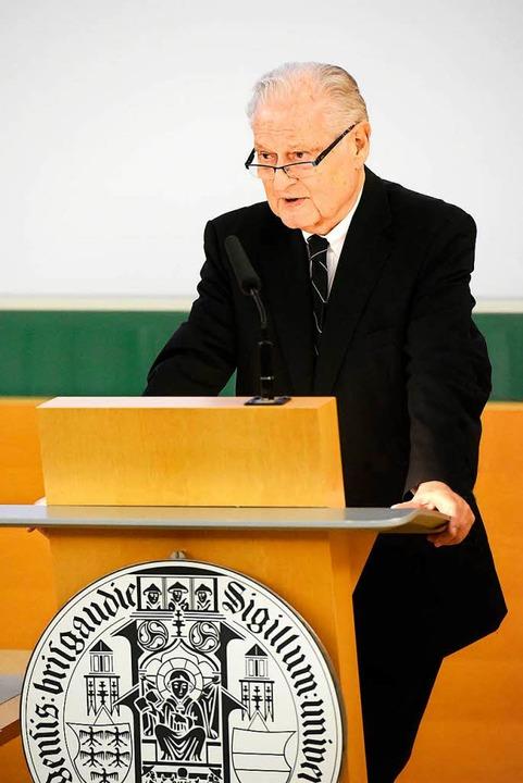 Die Nachfolge von Jörg Rüdiger Siewert ist geregelt.  | Foto: Thomas Kunz
