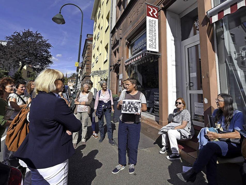 Die Historikerin Birgit Heidtke (Bildm...gleichen Rechte beider Geschlechter.    | Foto: thomas kunz