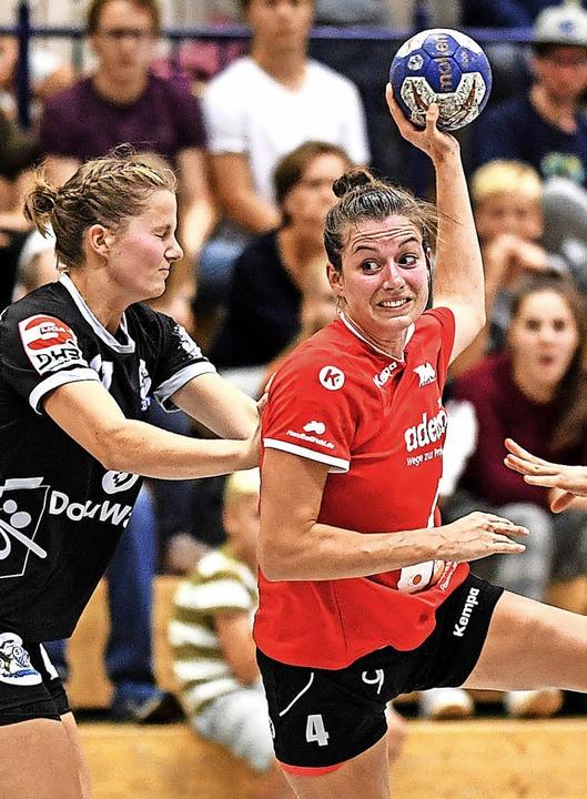 Beste Freiburgerin: Linkshänderin Christiane Baum     Foto: Patrick Seeger