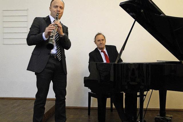 Musikalische Zeitreise mit dem Duo Jan Di in Lahr
