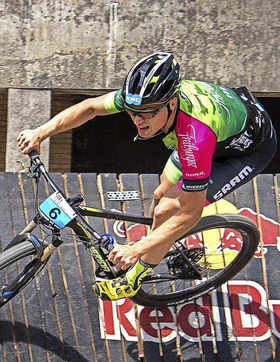 Antrittsschnell: Weltcupsprinter Simon Gutmann   | Foto: aerdna