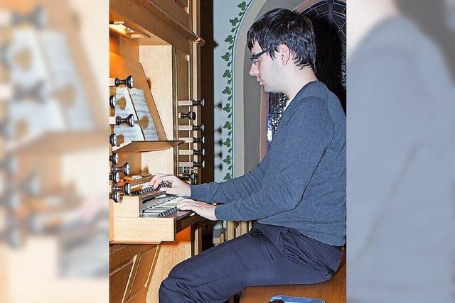 Faszinierende Orgelklänge