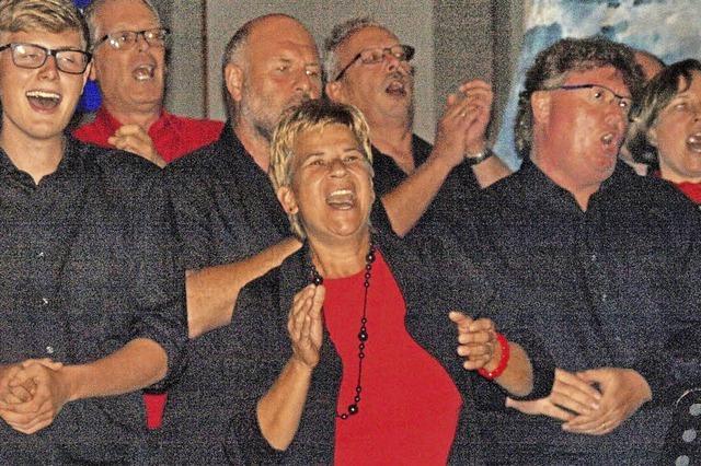Zum Jubiläum Gesang mit viel Freude