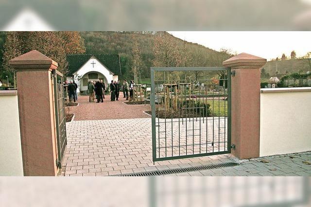 Hoffnungsfunken für die Friedhofshalle