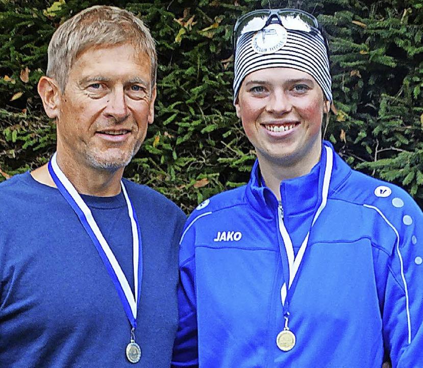 Den Mixed Zweier gewann das Boot mit Jacqueline und Didier Idesheim.  | Foto: Werner Schnettelker