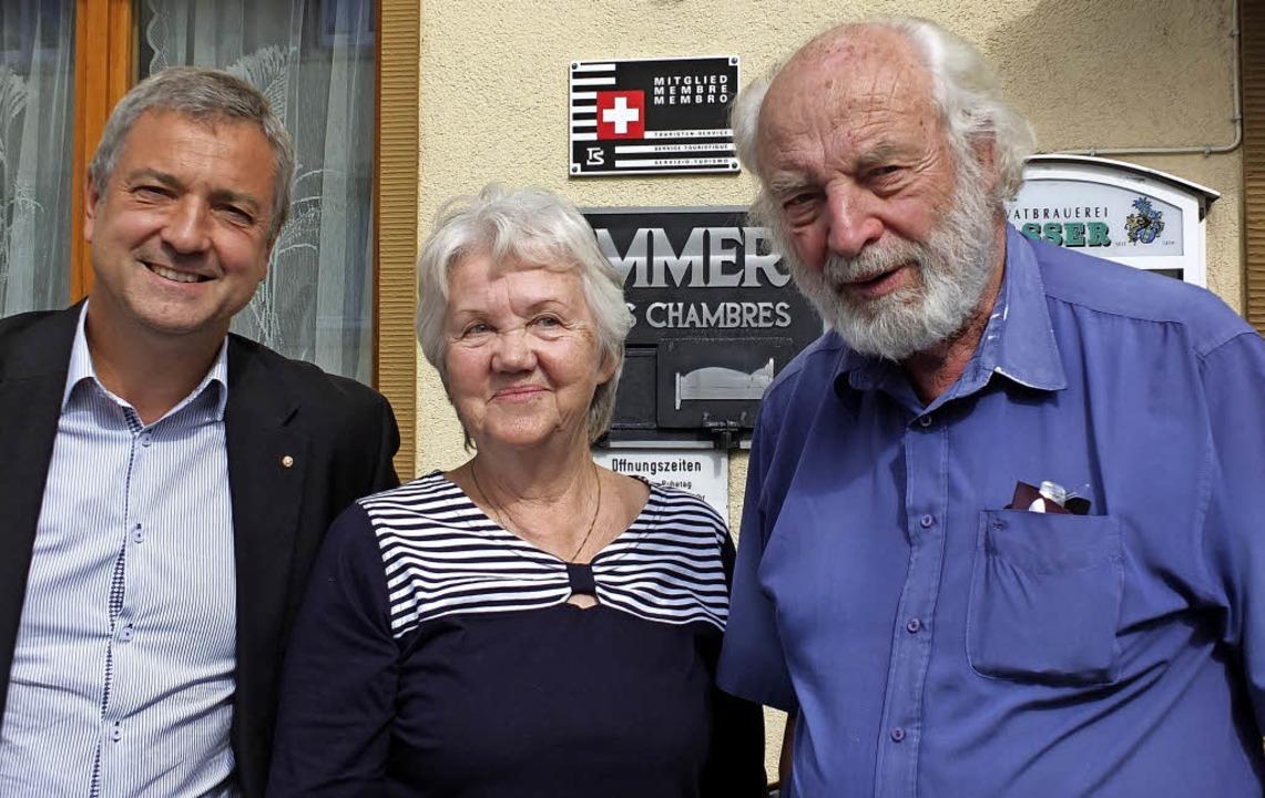 Thierry Kranzer (links), Heidi Zöllner und Hans Jörg Renk   | Foto: Martina David-Wenk