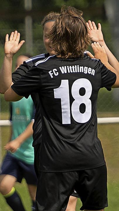 <BZ-FotoAnlauf>Frauenfussball: </BZ-Fo...eim Verbandsliga-Primus FC Wittlingen.  | Foto: Archiv: vfma