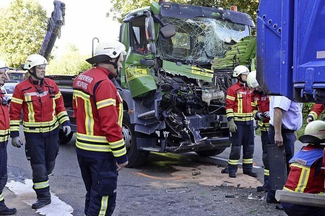 Schwerer Unfall auf dem Zubringer Mitte