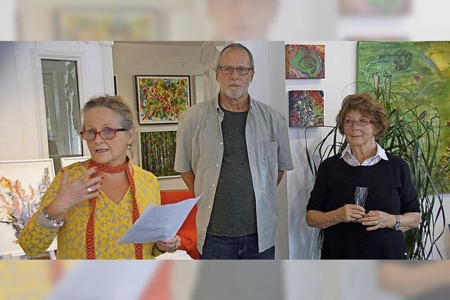 Ein Ort, drei Künstler