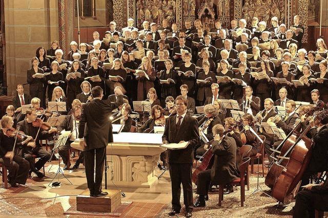 Das Magnificat von John Rutter wird in der Stadtkirche Gengenbach aufgeführt