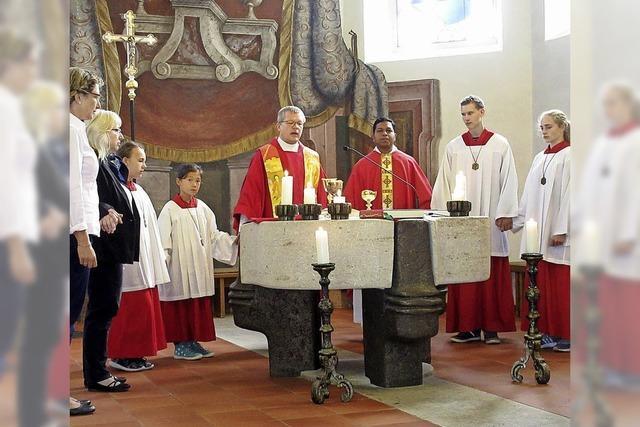 Pfarrei erinnert an den heiligen Mauritius