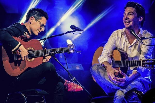 Gitarren-Duo Jan Pascal und Alexander Kilian konzertiert am Freitag, 28. September, im Kursaal in Bad Säckingen