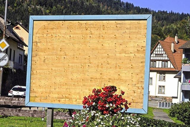 Verunstaltungen in Schönau