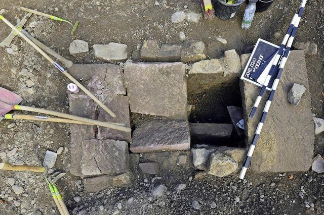 Archäologen vermuten auf Freiburger Baustelle für ein Luxus-Studentenwohnheim mittelalterliche Funde