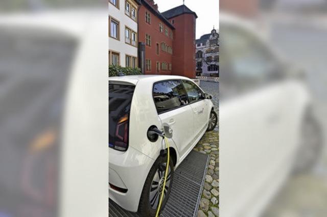 Der Fahrzeugpool der Stadt Freiburg besteht zu 75 Prozent aus Elektrofahrzeugen