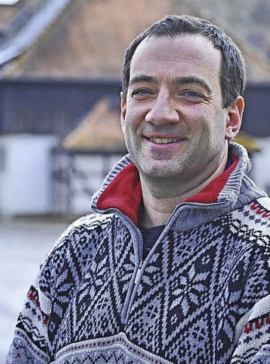 Berno Menzinger, 2012  | Foto: Michael Bamberger