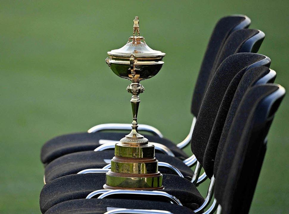 Am Freitag, 28. September, beginnt nahe Paris der Ryder Cup der Golfer.   | Foto: AFP/dpa