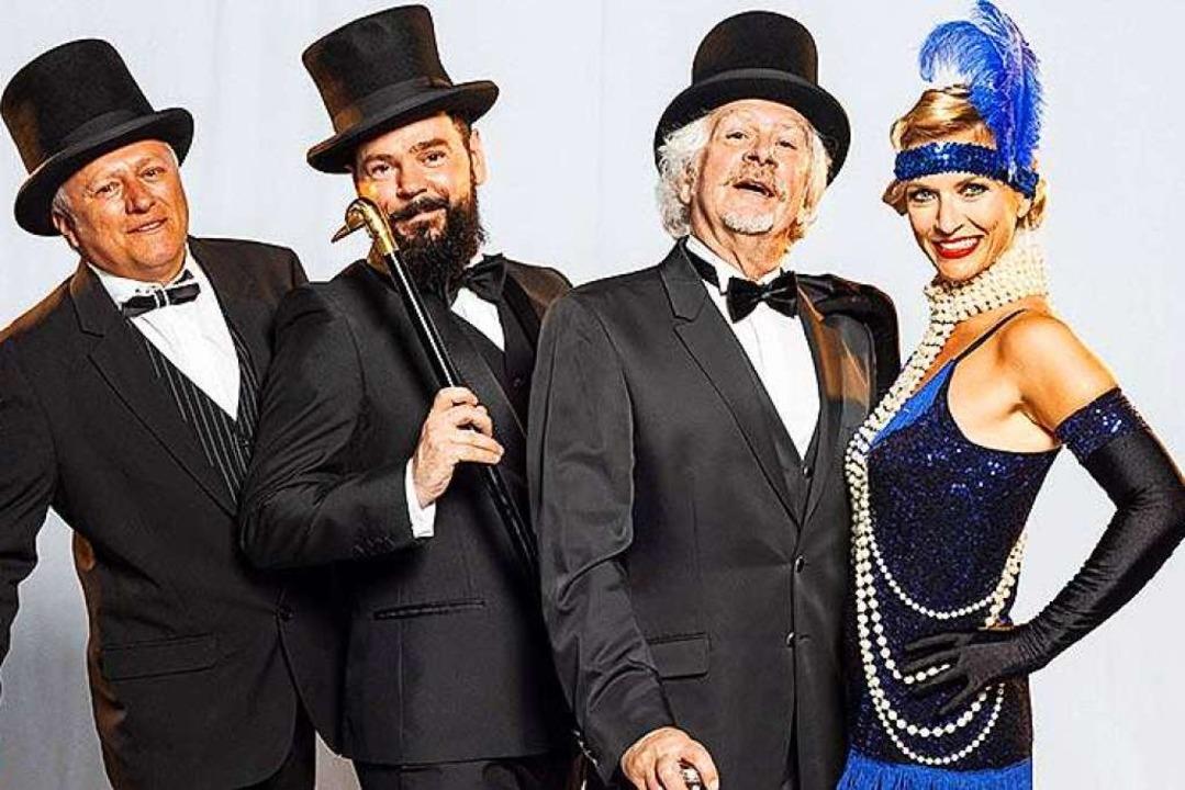 Das Maxwell Swing Orchestra feat. Virg...nzösischen Glamour in die Dinner-Show.  | Foto: Europa-Park Rust