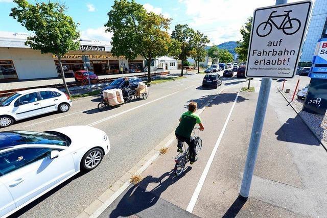 Radfahrer dürfen jetzt auch auf der Straße fahren – trotz Fahrradweg