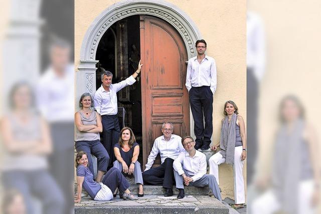 Freiburg: Das Caedmon-Ensemble konzertiert mit einem A-cappella-Programm
