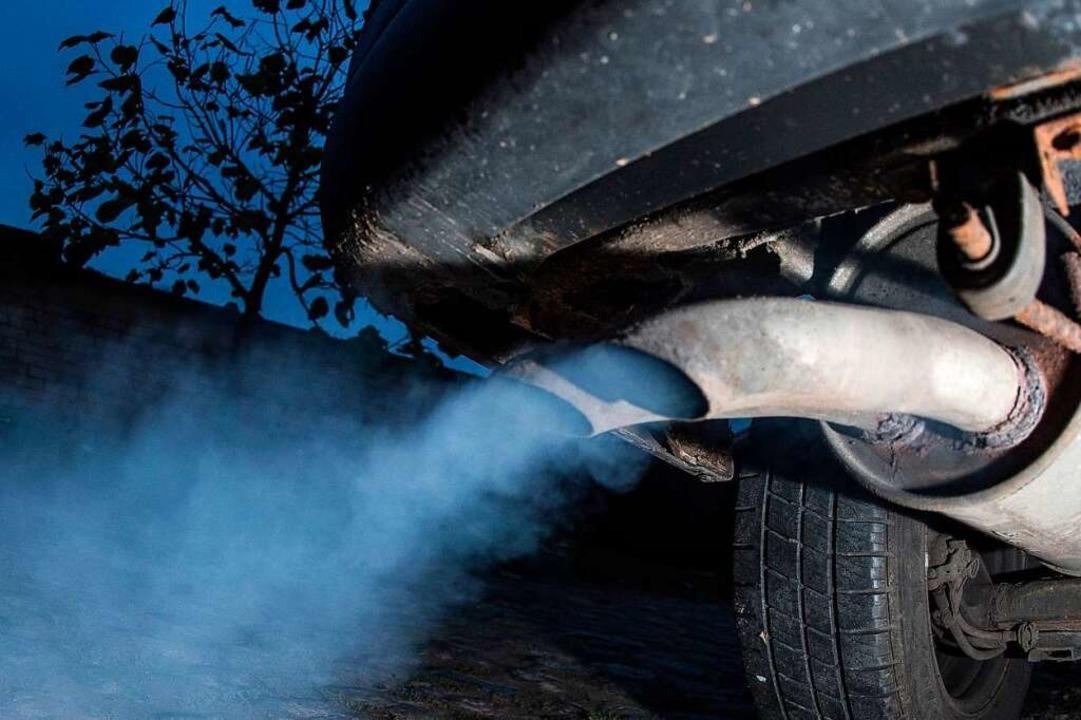 Fahrverbote für Dieselfahrzeuge könnte...ferenz am Mittwochmittag (Symbolbild).    Foto: Patrick Pleul