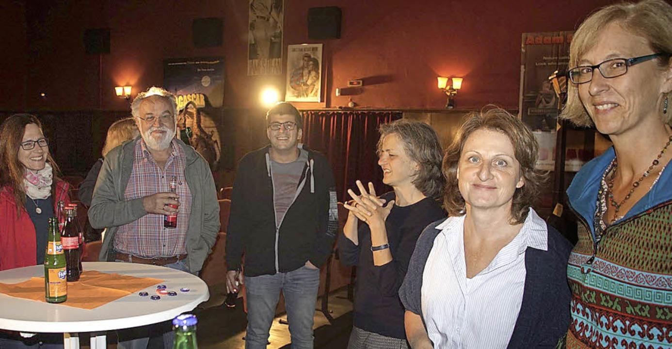 Nach dem Film  diskutierten Edith Kulz... und Utta Link mit den Kinobesuchern.   | Foto: Ilona Hüge