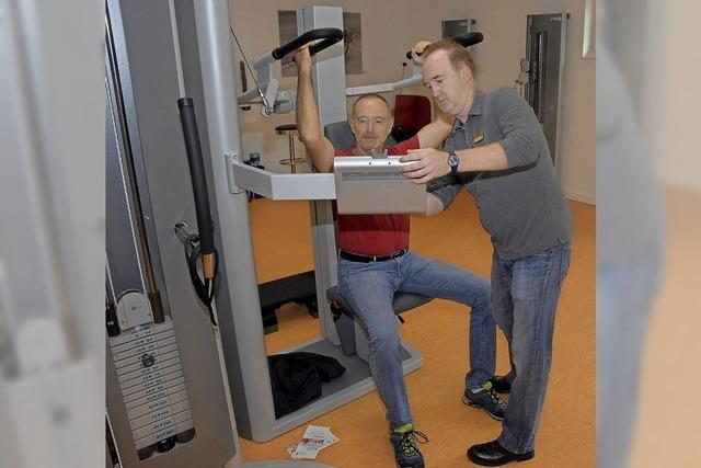 Computergestützt wird der ganze Körper trainiert