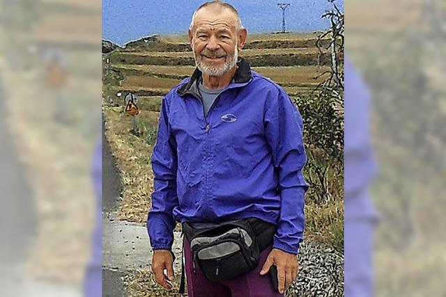 Helmut Schuller berichtet am Samstag, 29. September, im Kursaal Bad Säckingen über seine Heilung und Reise nach Santiago de Compostella