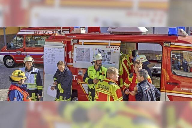Etwas andere Schauübung der Murger Feuerwehr