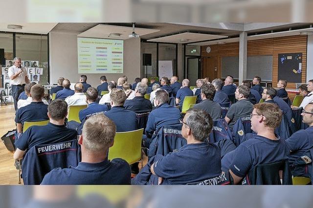 Großes Interesse an Fortbildung für Feuerwehrleute