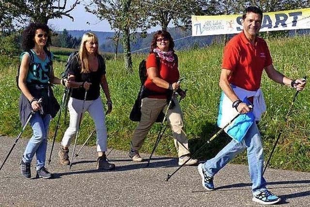 Wandern, Walken, Joggen – Majoratslauf lockt wieder