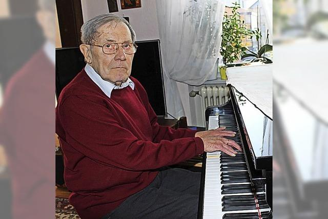 Lebenslang galt seine Leidenschaft der Musik
